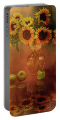 Sunflower Reflections Portable Battery Charger