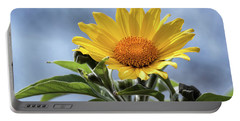 Portable Battery Charger featuring the photograph Sunflower  by Saija Lehtonen