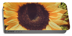 Sunflower Portable Battery Charger by Scott and Dixie Wiley