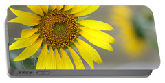 Portable Battery Charger featuring the photograph Sunflower by Sheila Brown