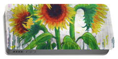 Sunflower Sonata Portable Battery Charger