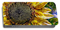 Sunflower Study Portable Battery Charger