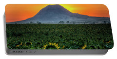 Sunflower Sunrise Portable Battery Charger