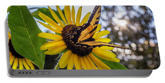 Sunflower Swallowtail Portable Battery Charger