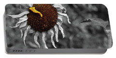 Sunflower- The End Of Summer Portable Battery Charger
