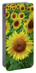 Sunflower Time Portable Battery Charger