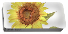 Portable Battery Charger featuring the photograph Sunflowers 10 by Andrea Anderegg