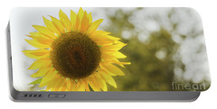 Portable Battery Charger featuring the photograph Sunflowers 12 by Andrea Anderegg