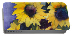 Sunflowers 17 Portable Battery Charger