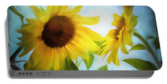 Sunflowers Duet Portable Battery Charger