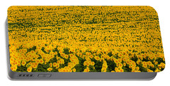 Sunflowers Galore Portable Battery Charger by Catherine Sherman
