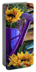 Complementary Sunflowers Portable Battery Charger