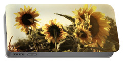 Sunflowers In Tone Portable Battery Charger