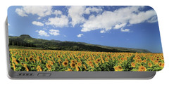 Sunflowers In Waialua Portable Battery Charger