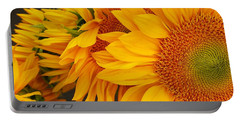 Sunflowers Train Portable Battery Charger