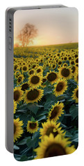 Sunflowers V Portable Battery Charger