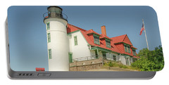 Sunlight On Point Betsie Lighthouse Portable Battery Charger