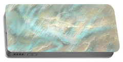 Portable Battery Charger featuring the digital art Sunlight On Water by Amyla Silverflame