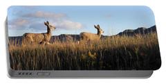 Sunlit Deer  Portable Battery Charger