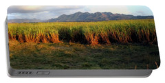 Sunlit Fields In Cuba Portable Battery Charger