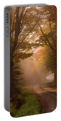 Serenity Of Fall Portable Battery Charger