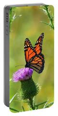 Sunlit Monarch  Portable Battery Charger