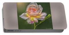 Sunlit Rose Portable Battery Charger