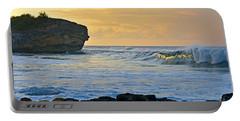 Sunlit Waves - Kauai Dawn Portable Battery Charger