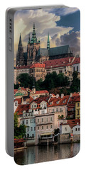 Sunny Afternoon In Prague Portable Battery Charger