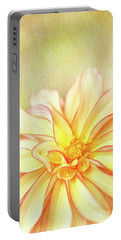 Sunny Dahlia Portable Battery Charger by Beve Brown-Clark Photography