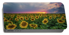 Sunny Disposition  Portable Battery Charger by Aaron J Groen