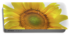 Portable Battery Charger featuring the photograph Sunny Flower 1 by Jenny Rainbow