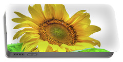 Portable Battery Charger featuring the photograph Sunny Flower by Jenny Rainbow