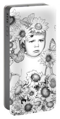 Sunny Girl Portable Battery Charger