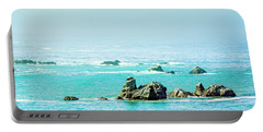 Sunny Pacific Ocean Oregon Coast Portable Battery Charger