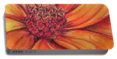 Portable Battery Charger featuring the drawing Sunny Perspective by Vonda Lawson-Rosa