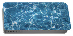 Portable Battery Charger featuring the photograph Sunny Reflections On Tropical Water by Jenny Rainbow