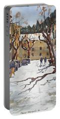 Sunny Street, Valledemossa Portable Battery Charger
