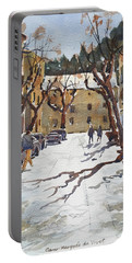 Sunny Street, Valledemossa Portable Battery Charger