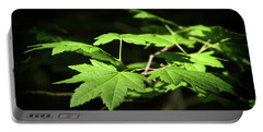 Sunny Summer Maple Portable Battery Charger