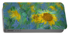 Sunny Sunflower Portable Battery Charger