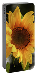 Portable Battery Charger featuring the photograph Sunny Sunflower by Jordan Blackstone