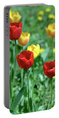 Sunny Tulips Portable Battery Charger