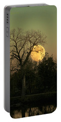 Portable Battery Charger featuring the photograph November Supermoon  by Chris Berry