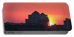 Sunrise At 17th St Portable Battery Charger by Robert Banach