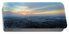 Sunrise At 400 Agl Portable Battery Charger by Dave Luebbert