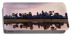 Sunrise At Angkor Wat Portable Battery Charger