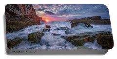 Sunrise At Bald Head Cliff Portable Battery Charger by Rick Berk