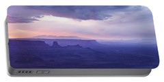 Portable Battery Charger featuring the photograph Sunrise At Canyonlands by Marie Leslie
