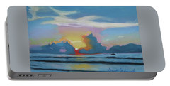 Sunrise At Cape Canaveral Beach Portable Battery Charger